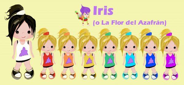 Taza de Iris o La Flor del Azafrán 2