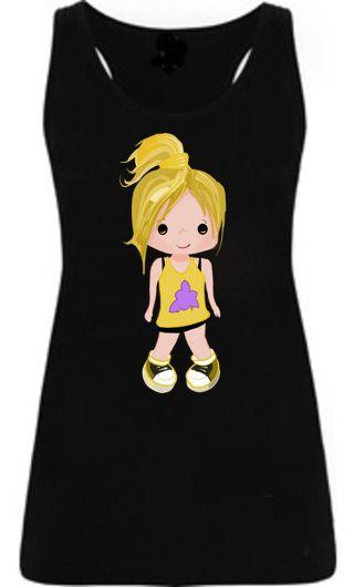 Camiseta infantil Iris - Amarillo