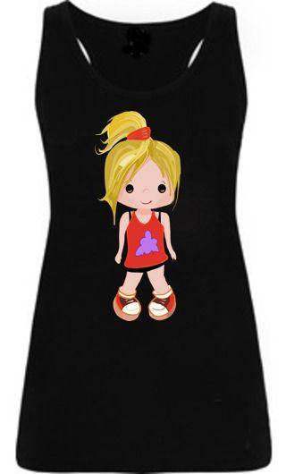 Camiseta infantil Iris - Rojo